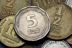 Coins of Israel photo
