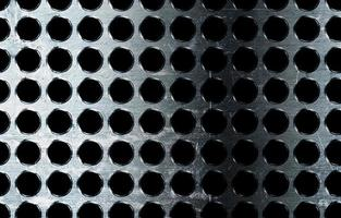 Worn metal plate photo
