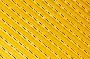 yellow paint Corrugated Metal for background photo