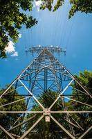Transmission tower photo