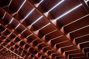 estrutura de piso de madeira