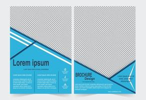 Annual report cover set . vector