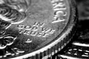 Macro of US Quarters