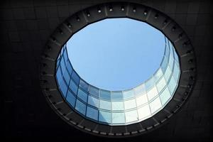 Glass hole