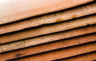Abstract roof tiles