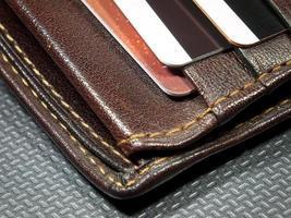 Wallet corner photo
