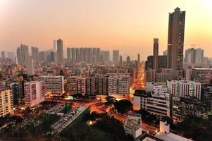 Downtown of Hong Kong photo