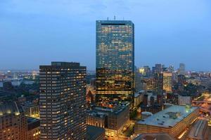 Horizonte de Boston, Massachusetts, Estados Unidos foto