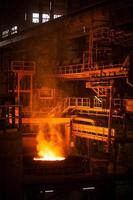 arc furnace photo