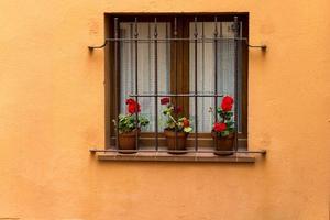 ventana al aire libre de la casa foto