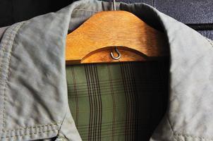 collar de abuelo vintage impermeable foto