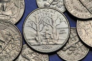 Coins of USA. US 50 state quarter