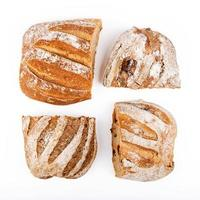 rustic bread of different types
