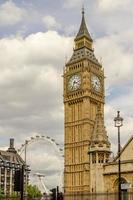 de Big Ben, Houses of Parliament, Londen