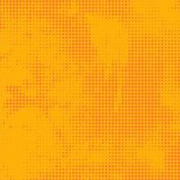 Abstract halftone yellow background
