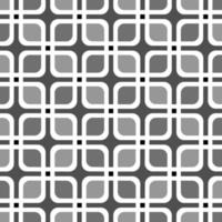 Seamless Square Cubic Box Retro Pattern Background  vector