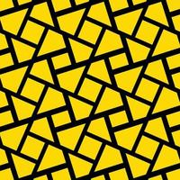 Yellow Abstract Shapes Design Background vector