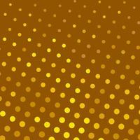 Brown and Yellow Polka Dots Seamless Pattern vector