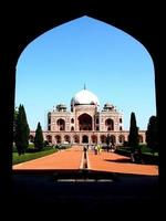 Tumba de Humayun, Nueva Delhi foto
