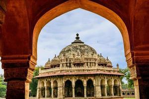 Isa Khan Niyazi tomb, Humayan complex,New Delhi photo