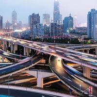 paso elevado de Shangai