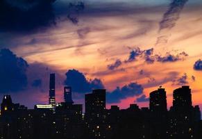 Shanghai Sunset in September photo