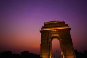 puerta de la India foto