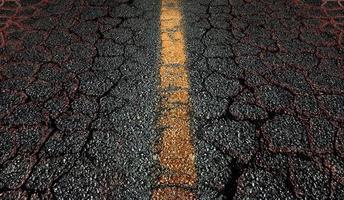 fond de route asphaltée