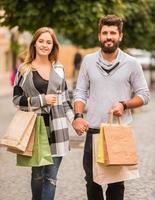 Couple on walk photo