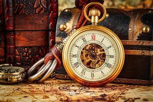 montre de poche vintage