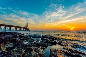 el horizonte pintado foto