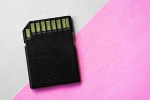 Memory card for digital camera