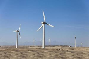 windgeneratoren in Egypte