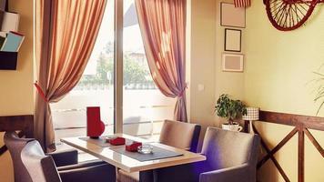 diseño retro interior cafe foto