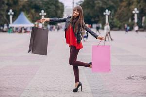 fashion shopping street photo