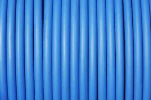 cable azul foto