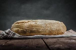 pain maison de seigle au levain