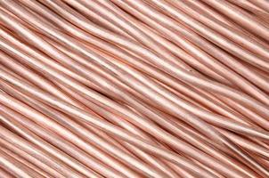 alambre de cobre foto
