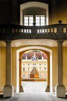 interior de una abadía foto