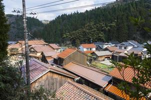 Silver mine town of Iwami,Japan.