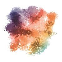 Fondo de textura acuarela pastel colorido vector