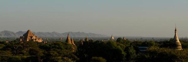 Pagodas in Bagan, Myanmar