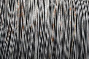 alambre de acero