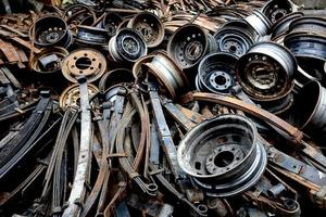 old spare parts for automobiles