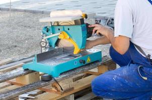 cortadora de metal foto