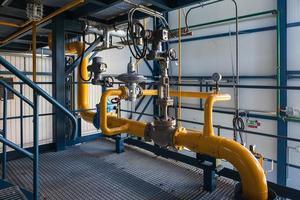 unidad de regulación de gas foto
