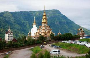 Phasornkaew Temple  at Khao Kho Phetchabun Thailand photo