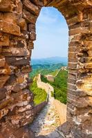 Great wall under sunshine photo