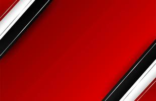 Overlapping diagonal borders on red gradient vector