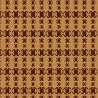 patrón de forma de círculo marrón y marrón oscuro
